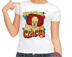Camiseta Babylook It A Coisa Pennywise
