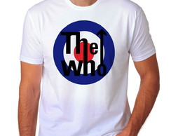 Camiseta The Who Banda Música - A3