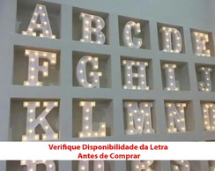 Letra Led Luminosa