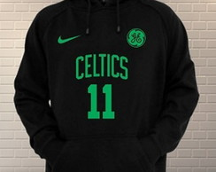 Blusa Moletom Nba Boston Celtics Personalizada