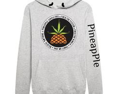 ... Blusa Moletom Pineapple Banda Damassaclan braço Promoção d198f823e93