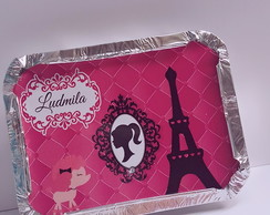 ROTULO MARMITINHA BARBIE PARIS