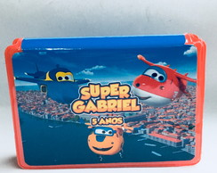 Estojo para colorir - super wings