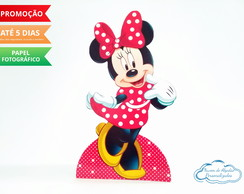 Display de mesa Minnie Vermelha
