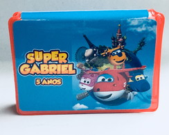 Estojo de pintura - super wings