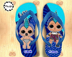 CHINELO PERSONALIZADO LOL SURPRISE BOY - Infantil