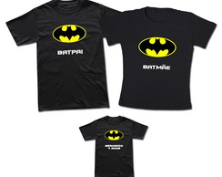 Kit 3 Camisetas Super Herói Batman T-shirt Adulto Batman