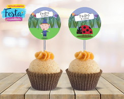 Topper para Doces - Ben And Holly's