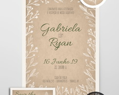 Kit Digital • Casamento • Craft