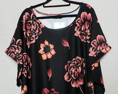 Blusas Plus Size Estampada