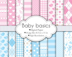 Scrapbook Digital Shabby Baby Basic's 07