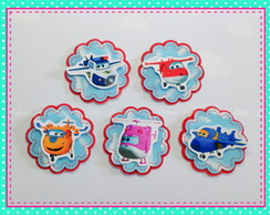 Aplique 3 camadas Super Wings