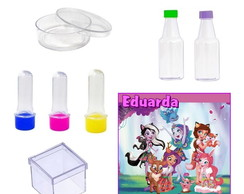 Kit Festa Enchantimals 120 itens