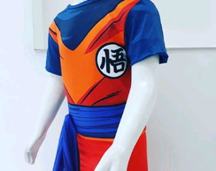 Cosplay fantasia costume goku