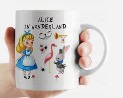 Caneca Alice In Wonderland - 1408s2