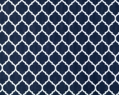 PVC Craft Marrocos Navy Blue