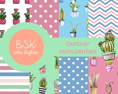 CACTOS/SUCULENTAS - Kit Digital