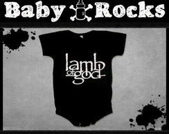 Body ou Camisetinha Lamb of God