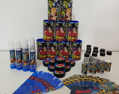 KIT 2 FESTA PERSONALIZADOS TEMA DRAGON BALL