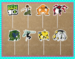 Topper Doces Ben 10