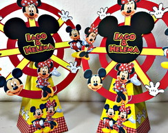 Roda gigante mickey e minnie