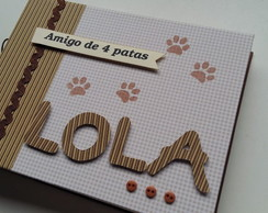 Álbum Scrapbook Happy Dog