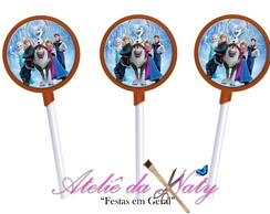 Pirulito de chocolate - Frozen