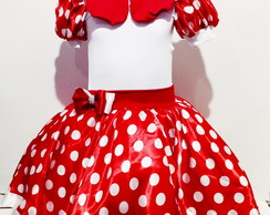 Fantasia da Minnie infantil