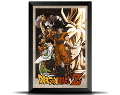 Quadro/Poster Retrô Dragon Ball Z 20x30 - GR002