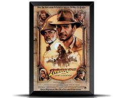 Quadro/Poster Retrô Indiana Jones 20x30 - GR012