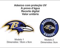 ... Adesivo Nfl Baltimore Ravens 50d915dd55208