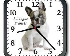 a1ce1605bfc ... Relógio de Parede Búldogue Francês 1