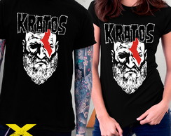 Camiseta God Of War Kratos Misfits Games Jogos Danzig Blusa