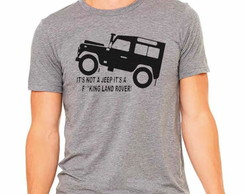 Camiseta Jeep Land rover