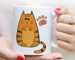 Caneca Gato cute - Love Cat´s - 1635