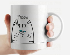 Caneca Gato cute - Love Cat´s - 1634