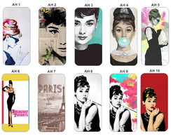 Capa Capinha Case - Audrey Hepburn Galaxy S5 S5 New Edition