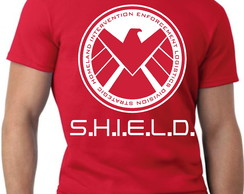 CAMISA,CAMISETA AGENTS OF SHIELD CAMISA DE SÉRIE FILMES E HQ