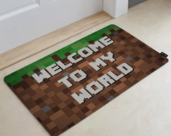 Tapete Decorativo 60x40cm Mine World