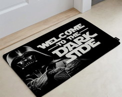 Tapete Decorativo 60x40cm Welcome to the Dark Side