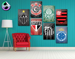 Placa Decorativa MDF - Times