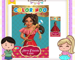 Kit colorir giz Elena de Avalor