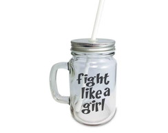 Caneca Pote Fight Like a Girl