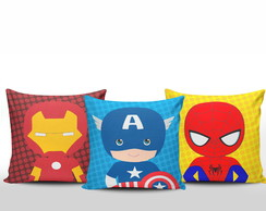 Kit Almofadas Super Herois