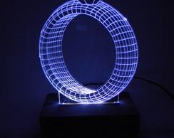e4d8aa73431e9 ... Luminária de acrílico e LED Anel de Diamante Branco