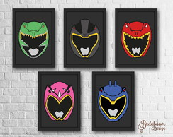 Kit Poster Power Rangers Dino Charge