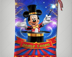 Saquinho circo do mickey 15x22