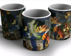 Caneca DRAGON BALL Z GOKU vs VEGETA