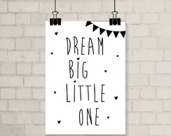 Poster A3 - Dream Big