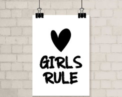 Poster A3 - Girls Rule